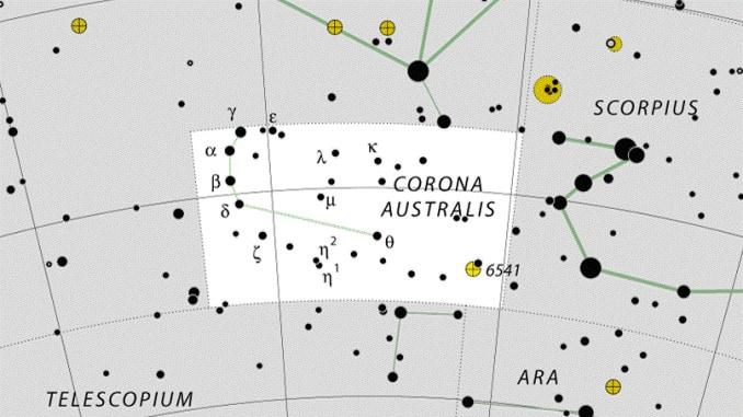 sternbild corona australis